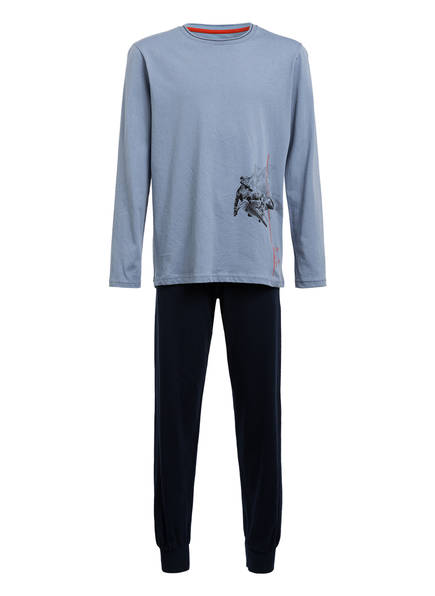 Sanetta Schlafanzug , Farbe: BLAU/ DUNKELBLAU (Bild 1)