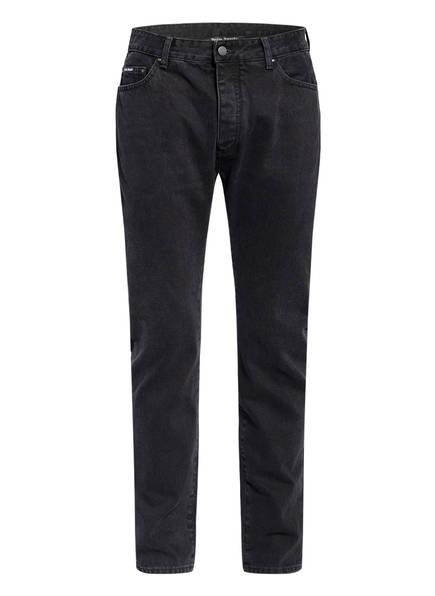 Palm Angels Jeans Extra Slim Fit , Farbe: BLACK WHITE (Bild 1)