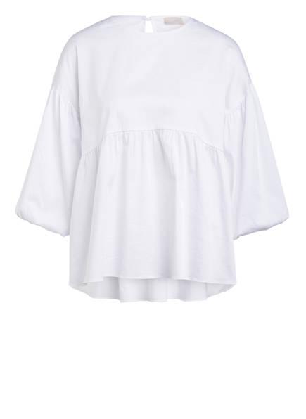 Mrs & HUGS Blusenshirt mit 3/4-Arm , Farbe: WEISS (Bild 1)