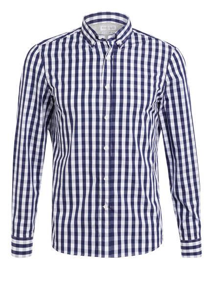 BRUNELLO CUCINELLI Hemd Leisure Fit , Farbe: WEISS/ BLAU (Bild 1)