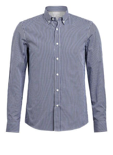 BRUNELLO CUCINELLI Hemd Leisure Fit, Farbe: DUNKELBLAU/ WEISS KARIERT (Bild 1)