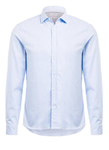 BRUNELLO CUCINELLI Hemd OXFORD Leisure Fit, Farbe: HELLBLAU (Bild 1)
