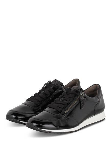 Paul Green Damen Sneaker schwarz