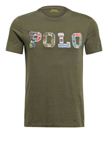 POLO RALPH LAUREN T-Shirt , Farbe: OLIVE (Bild 1)