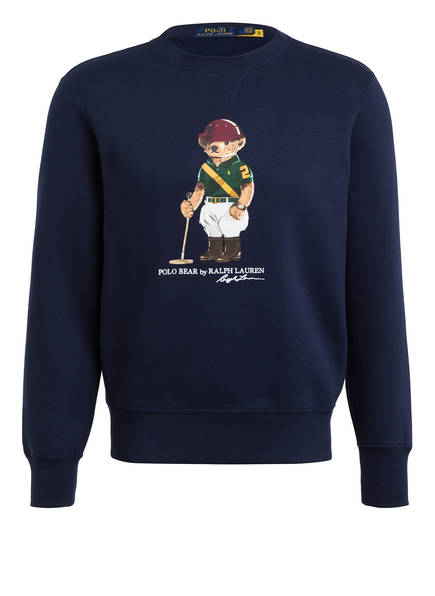 POLO RALPH LAUREN Fleece-Sweatshirt, Farbe: DUNKELBLAU (Bild 1)