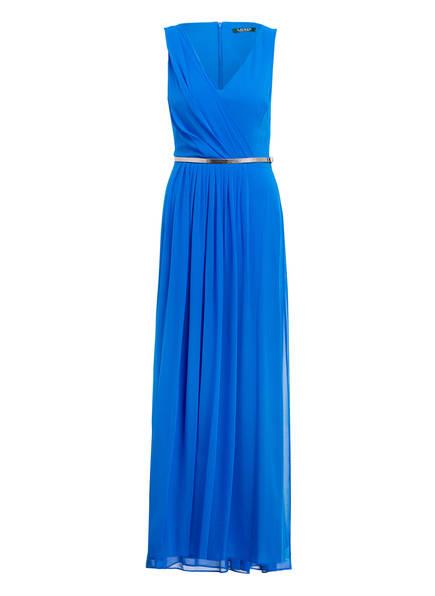 LAUREN RALPH LAUREN Abendkleid SIENNA, Farbe: BLAU (Bild 1)