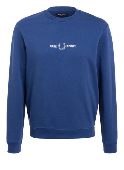FRED PERRY Sweatshirt, Farbe: BLAU (Bild 1)