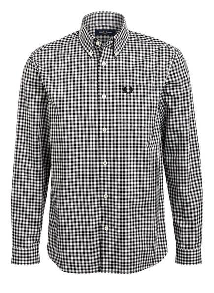 FRED PERRY Hemd Comfort Fit, Farbe: SCHWARZ/ WEISS (Bild 1)