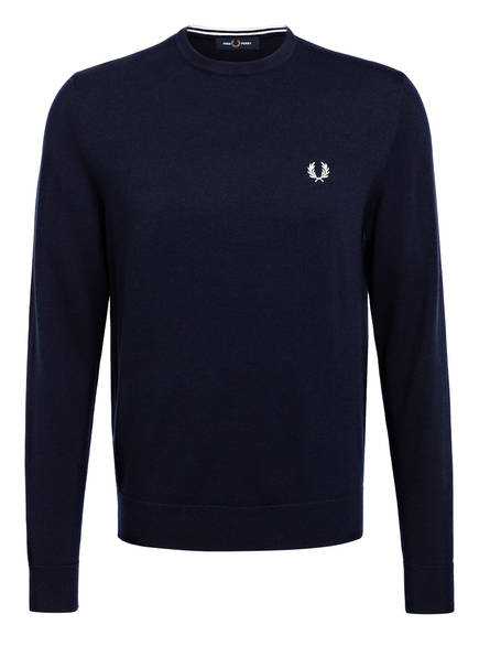FRED PERRY Pullover, Farbe: DUNKELBLAU (Bild 1)