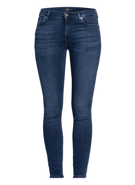 7 for all mankind Skinny Jeans, Farbe: SLIM ILLUSION LUXE LOS FELIZ DARK BLUE (Bild 1)