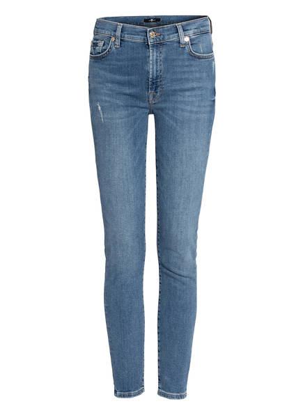 7 for all mankind Skinny Jeans , Farbe: SLIM ILLUSION COUNTDOWN LIGHT BLUE (Bild 1)