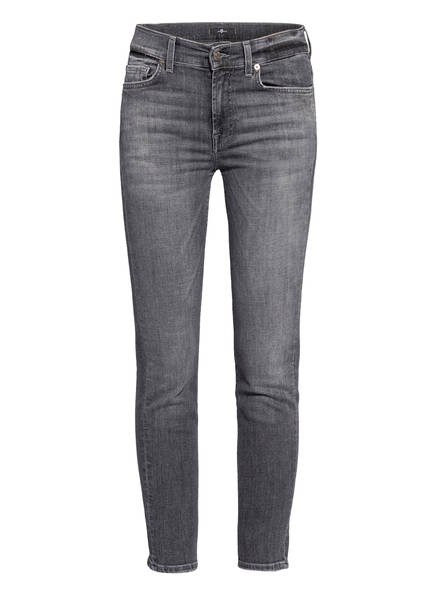 7 for all mankind 7/8-Jeans ROXANNE ANKLE, Farbe: SOHO GREY  (Bild 1)