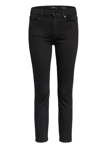 7 for all mankind 7/8-Jeans ROXANNE ANKLE, Farbe: SLIM ILLUSION FAME BLACK (Bild 1)