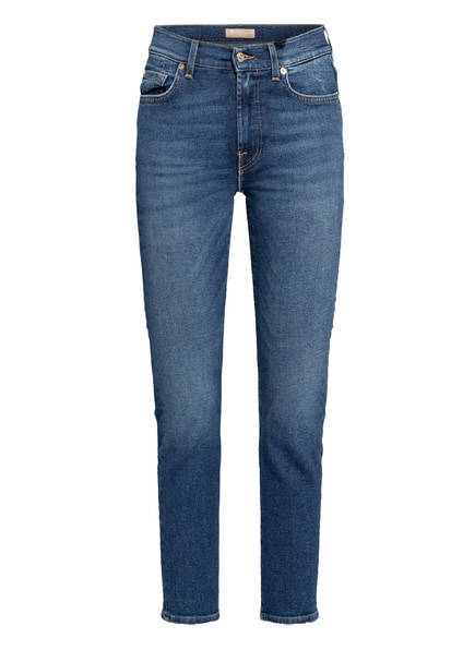 7 for all mankind 7/8-Jeans ROXANNE ANKLE, Farbe: LUXE VINTAGE PACIFIC GROVE BLUE (Bild 1)