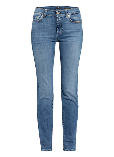 7 for all mankind Jeans THE STRAIGHT, Farbe: SOHO LIGHT BLUE (Bild 1)