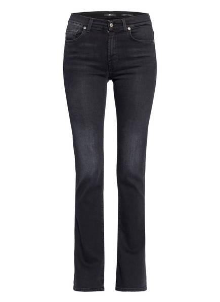 7 for all mankind Bootcut Jeans, Farbe: SOHO BLACK BLACK (Bild 1)
