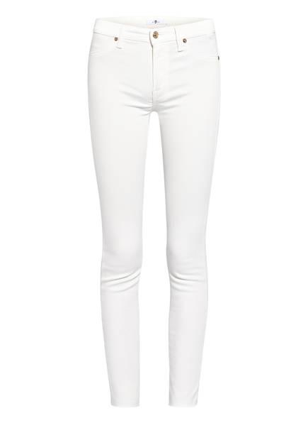 7 for all mankind Skinny Crop Jeans , Farbe: COLORED SLIM ILLUSION MILK WHITE (Bild 1)
