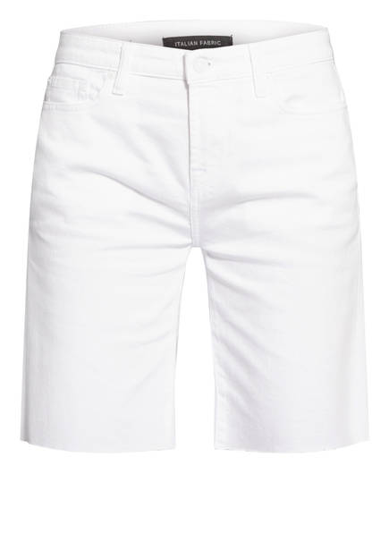 7 for all mankind Jeans-Shorts EASY, Farbe: PURE WHITE WHITE (Bild 1)