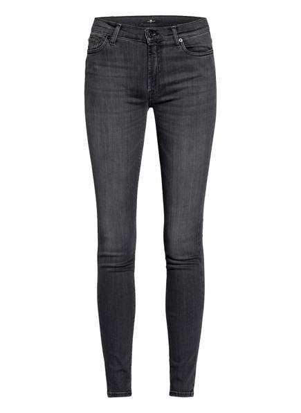 7 for all mankind Skinny Jeans, Farbe: SLIM ILLUSION LUXE MISTERY BLACK (Bild 1)