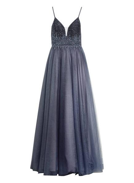 MASCARA Abendkleid mit Stola, Farbe: BLAU (Bild 1)