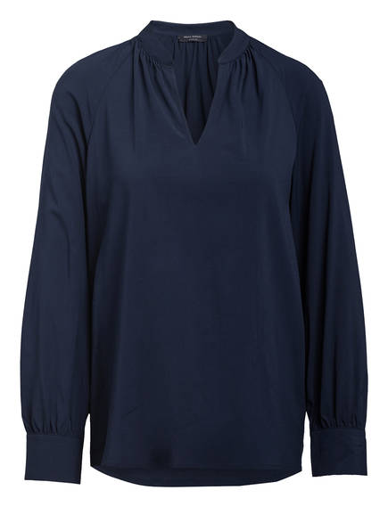 Marc O'Polo Blusenshirt, Farbe: DUNKELBLAU (Bild 1)