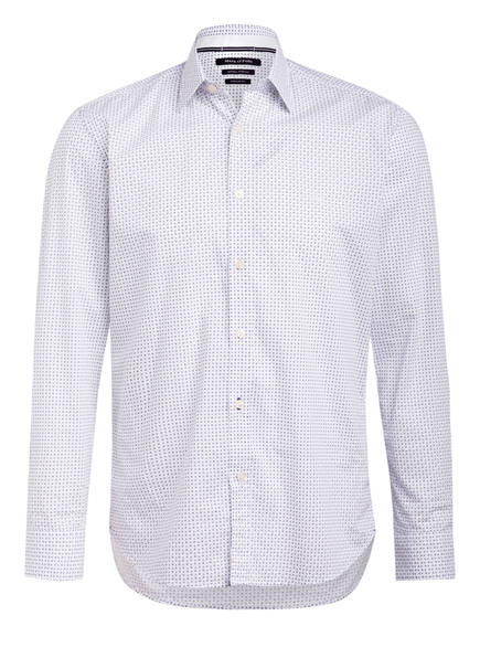 Marc O'Polo Hemd Regular Fit , Farbe: WEISS/ DUNKELBLAU (Bild 1)