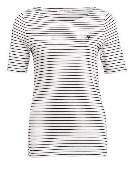 Marc O'Polo T-Shirt , Farbe: WEISS/ SCHWARZ GESTREIFT (Bild 1)