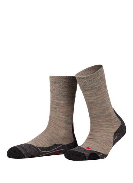 FALKE Trekking-Socken TK2, Farbe: 7765 MOON MIST (Bild 1)