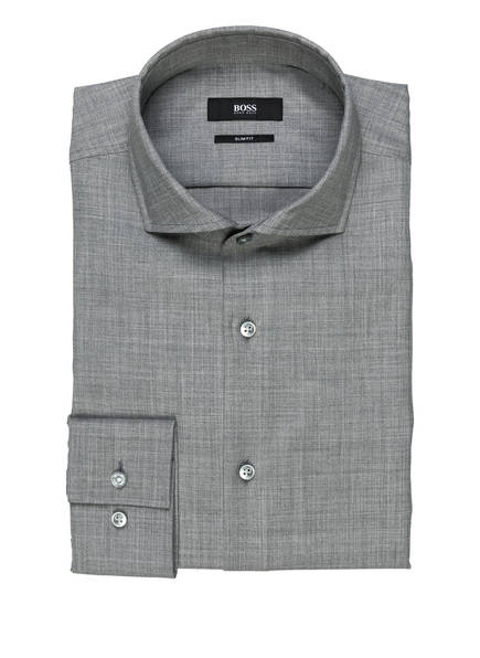 BOSS Hemd JASON Slim Fit, Farbe: GRAU (Bild 1)