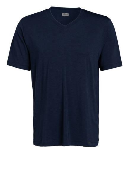 HANRO V-Shirt CASUAL , Farbe: DUNKELBLAU (Bild 1)