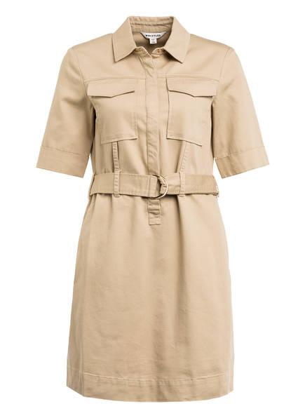 WHISTLES Kleid GEMMA, Farbe: BEIGE (Bild 1)
