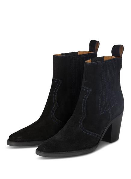 GANNI Cowboy Boots , Farbe: SCHWARZ (Bild 1)