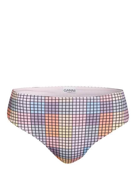 GANNI Bikini-Hose, Farbe: HELLROSA/ GELB/ HELLBLAU (Bild 1)