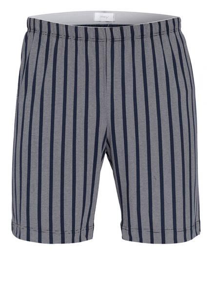 mey Lounge-Shorts Serie CLUB COLL., Farbe: DUNKELBLAU/ WEISS GESTREIFT (Bild 1)