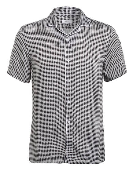 REISS Resorthemd BUTLER Regular Fit, Farbe: HELLGRAU/ DUNKELBLAU (Bild 1)