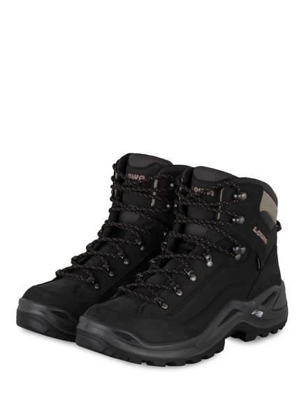 LOWA Outdoor-Schuhe RENEGADE GTX MID, Farbe: SCHWARZ/ GRAU (Bild 1)