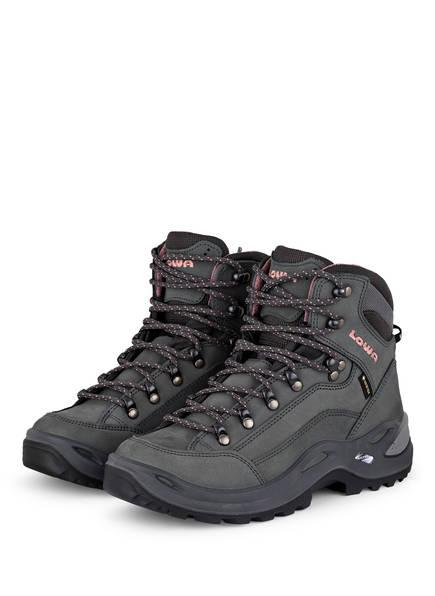LOWA Outdoor-Schuhe RENEGADE GTX MID, Farbe: GRAPHIT/ ROSE (Bild 1)
