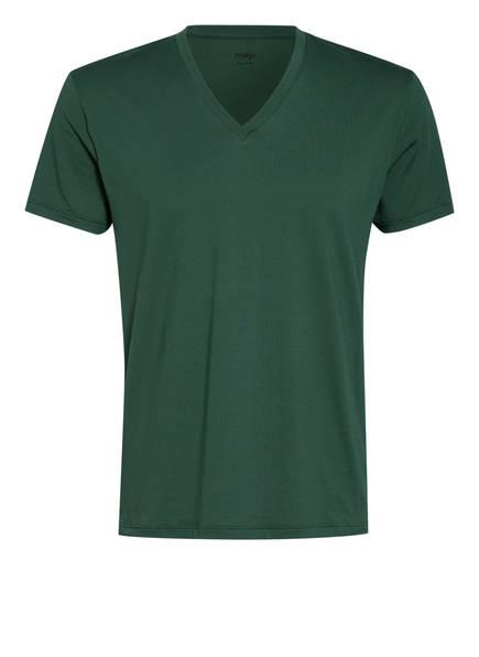 mey V-Shirt Serie DRY COTTON , Farbe: 186 mauve (Bild 1)
