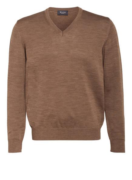 MAERZ MUENCHEN Pullover, Farbe: HELLBRAUN MELIERT (Bild 1)
