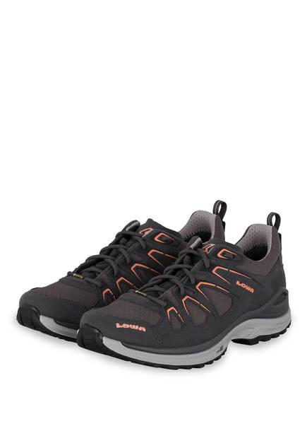 LOWA Outdoor-Schuhe INNOX EVO GTX, Farbe: ASPHALT/ LACHS (Bild 1)