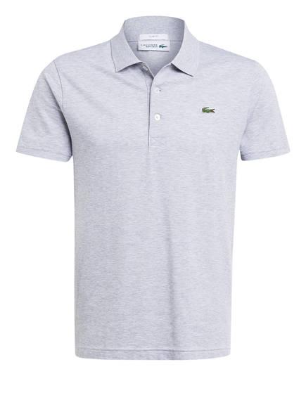 LACOSTE Piqué-Poloshirt Slim Fit, Farbe: HELLGRAU MELIERT (Bild 1)
