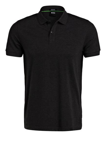 BOSS Piqué-Poloshirt PIRO Regular Fit, Farbe: DUNKELGRAU MELIERT (Bild 1)
