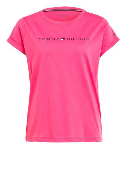 TOMMY HILFIGER Lounge-Shirt, Farbe: PINK (Bild 1)