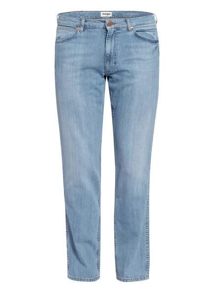 Wrangler Jeans Regular Straight, Farbe: P1139 UTOPIA BLUE (Bild 1)