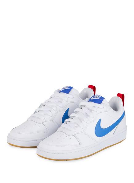 Nike Sneaker COURT BOROUGH LOW 2, Farbe: WEISS/ BLAU (Bild 1)