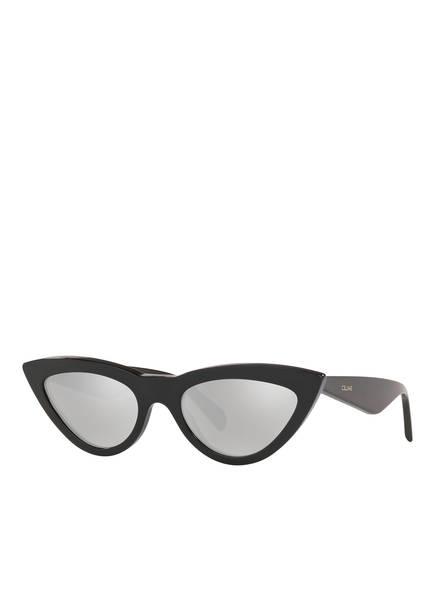 CELINE Sonnenbrille CL000196, Farbe: 1100W156 - SCHWARZ/ GRAU VERSPIEGELT (Bild 1)
