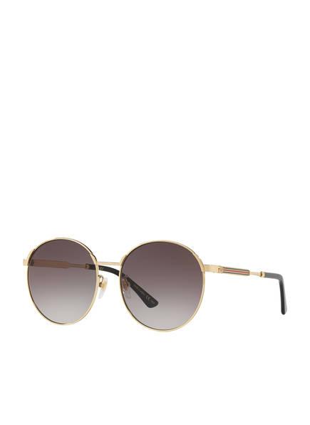 GUCCI Sonnenbrille GC001113, Farbe: 2330L3 - GOLD/ GRAU VERLAUF (Bild 1)