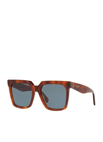 CELINE Sonnenbrille CL000215, Farbe: 4402B1 - HAVANA/ GRAUBLAU (Bild 1)
