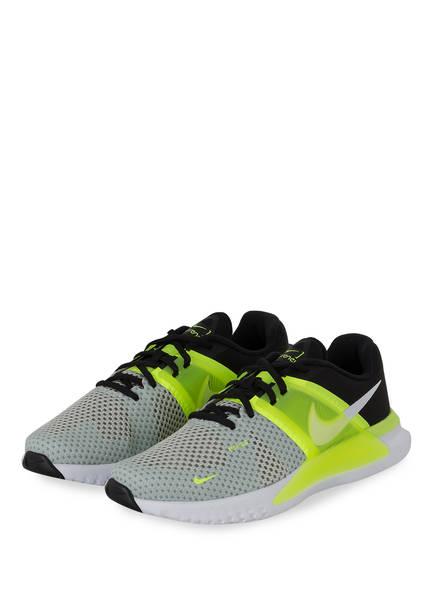 Nike Trainingsschuhe RENEW FUSION, Farbe: SCHWARZ/ NEONGELB/ HELLGRAU (Bild 1)