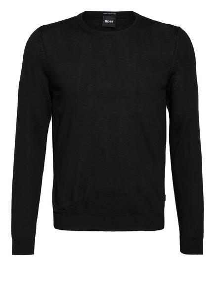 BOSS Pullover LENO-P, Farbe: SCHWARZ (Bild 1)